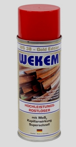 Wekem Rostlöser / 12 Spraydosen